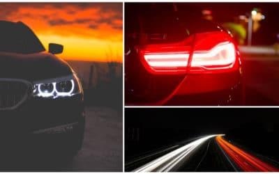 Bombillas de coche halógenas, de led o de xenón: ¿Qué diferencia hay?